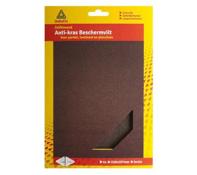 Deltafix anti-kras beschermvilt bruin 723
