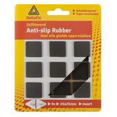 Deltafix Deltafix anti-slip rubber 25mm zwart 739