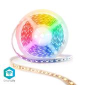 Nedis SmartLife meerkleuren LED-strip WIFILS50CRGBW