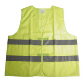 Dresco Dresco veiligheidsvest geel reflectief 5250010