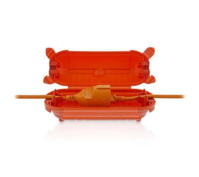Nedis stekkerbox oranje PEBX01OG