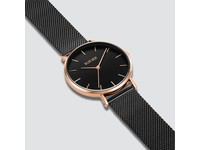 Burker Watches RUBY BLACK ROSE GOLD