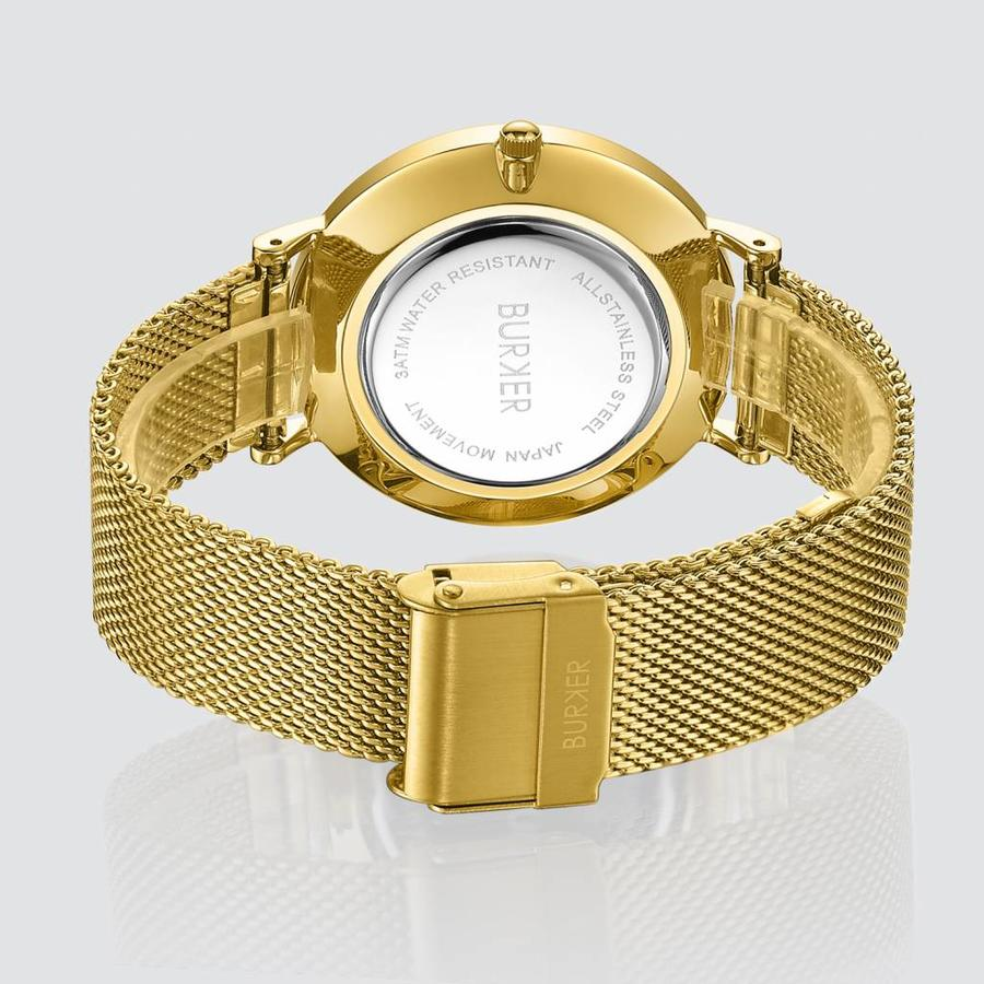 Burker Watches RUBY GOLD WHITE