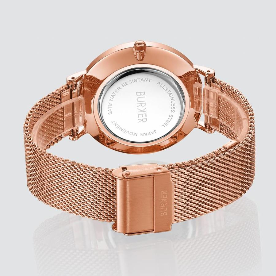 Burker Watches RUBY ROSE GOLD WHITE