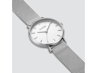Burker Watches RUBY SILVER WHITE