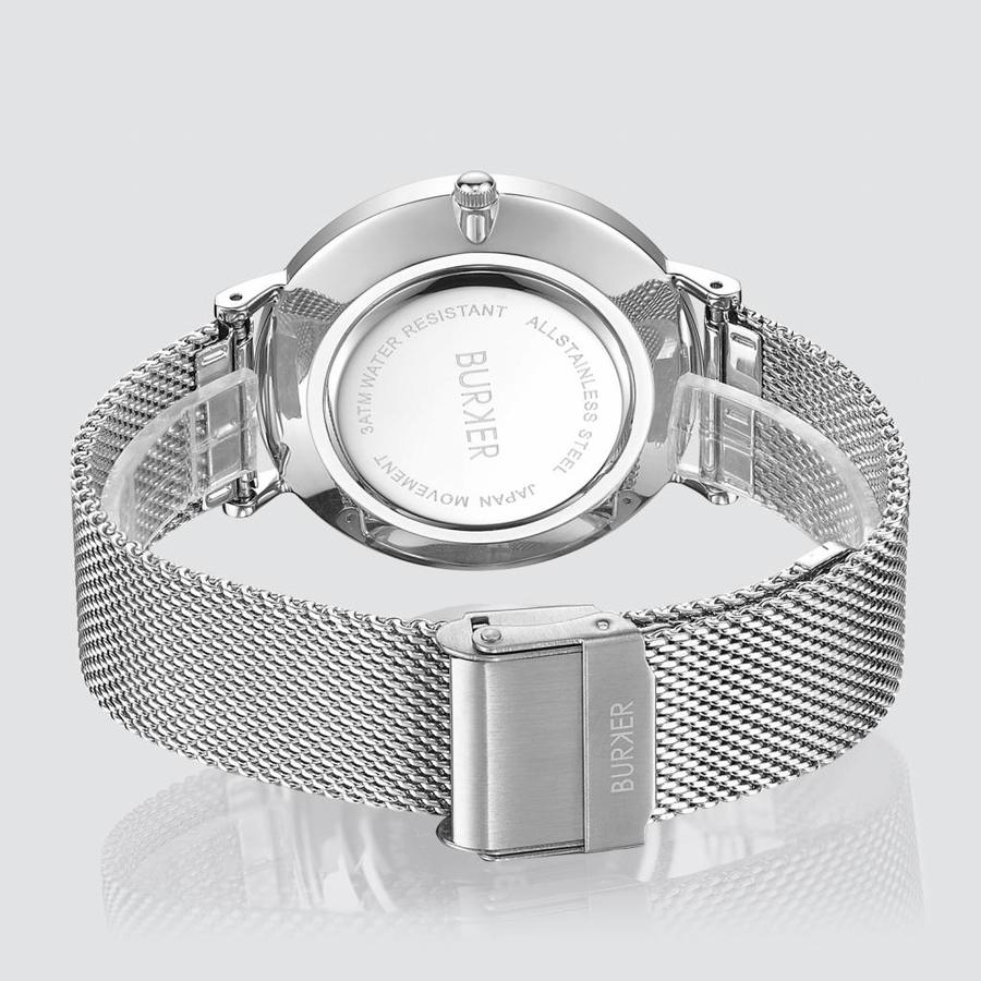 Burker Watches ADAM & EVE SILVER WHITE