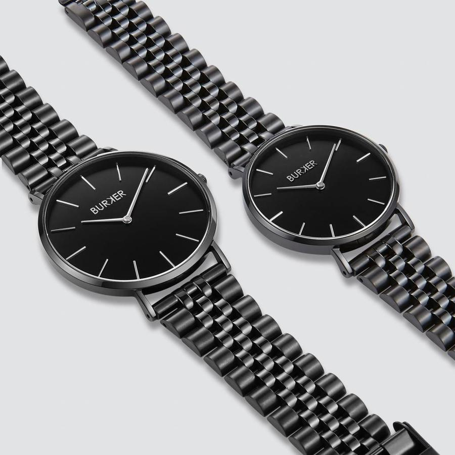 Burker Watches ADAM & EVE BLACK LIMITED EDITION