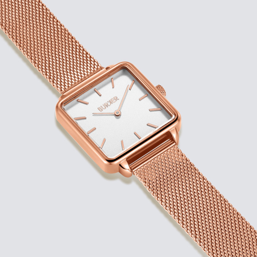Burker CHLOE ROSE GOLD WHITE