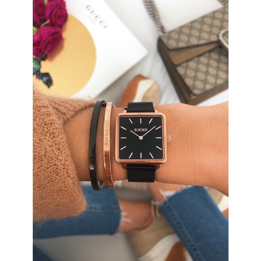 Burker CHLOE BLACK ROSE GOLD