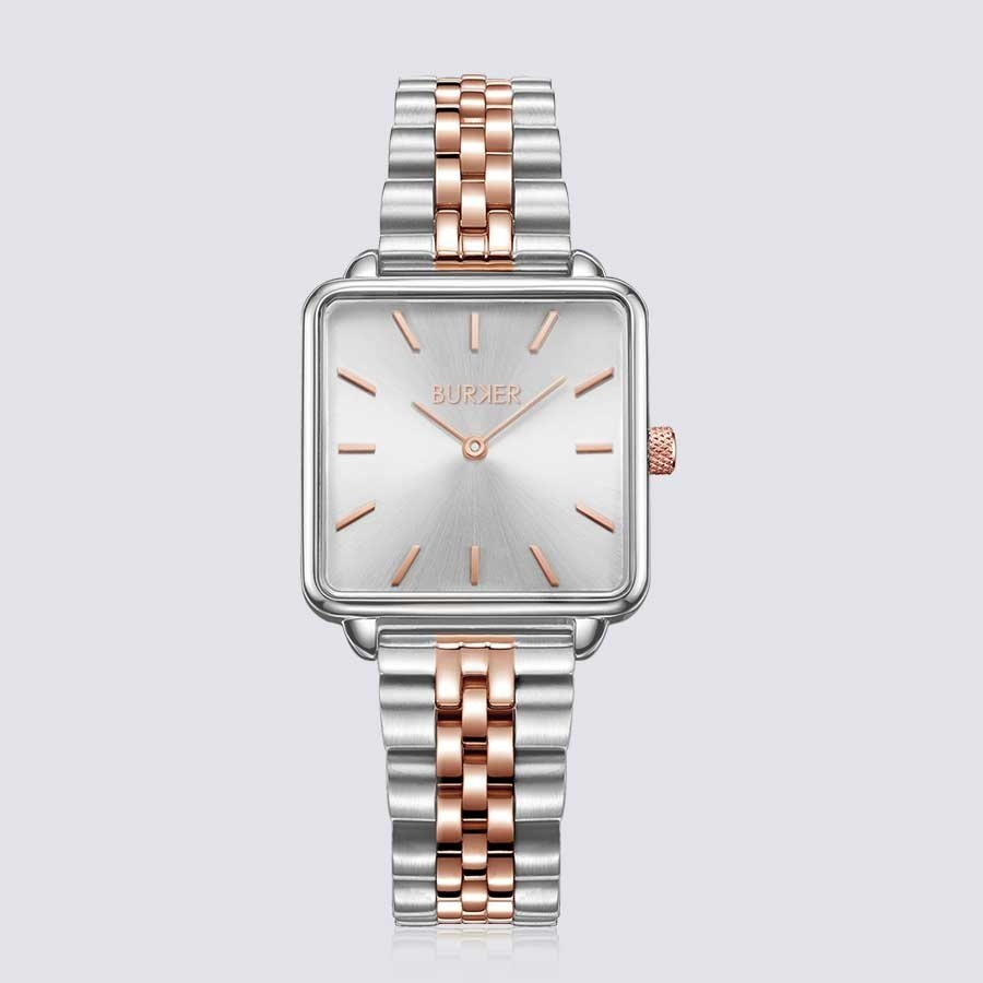 Burker CHLOE ROSE GOLD SILVER LIMITED EDITION