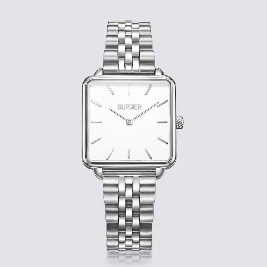 Burker CHLOE SILVER WHITE LIMITED EDITION