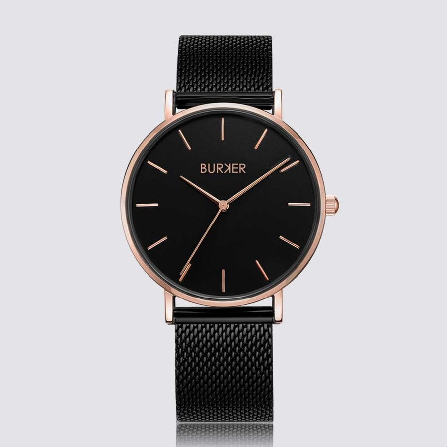Burker RUBY BLACK ROSE GOLD