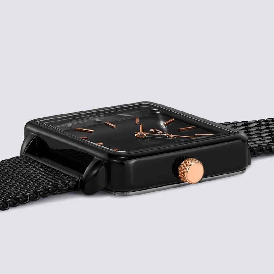 Burker CHLOE BLACK/BLACK ROSE GOLD