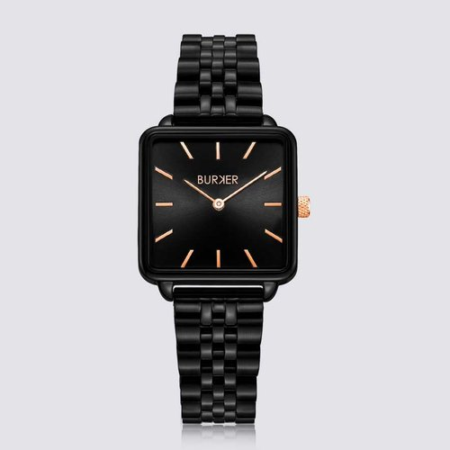Burker CHLOE BLACK/BLACK ROSE GOLD LIMITED EDITION
