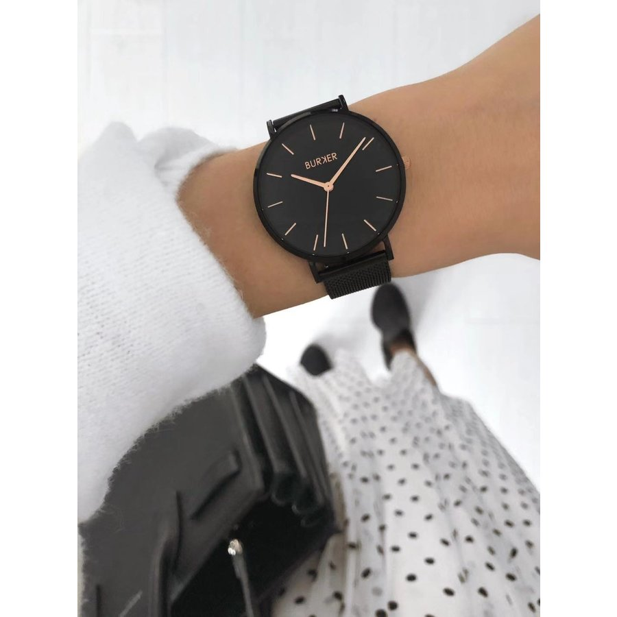 Burker RUBY BLACK/BLACK ROSE GOLD