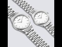 Burker ADAM & EVE CLASSIC LINK SILVER WHITE