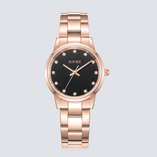 BURKER AMY ROSE GOLD BLACK