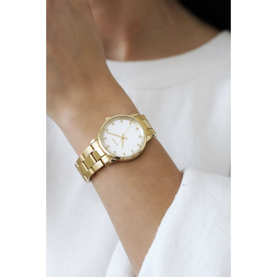 BURKER AMY GOLD WHITE