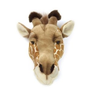 Wild and Soft Dierenkop Giraffe