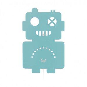 Roommate Robot lamp pastel blauw