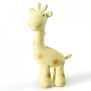 Tikiri Giraffe bad/bijtspeeltje met rammelaar