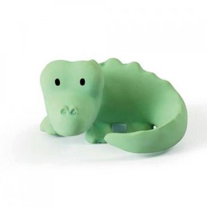 Tikiri Krokodil bad/bijtspeeltje met rammelaar