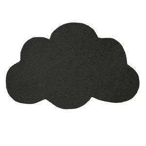 Lilipinso Vloerkleed wolk zwart