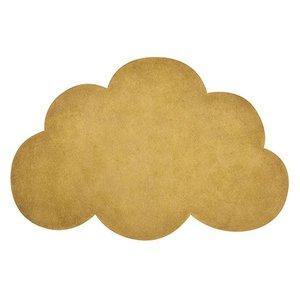 Lilipinso Vloerkleed wolk okergeel
