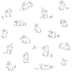 Lilipinso Bunny behang