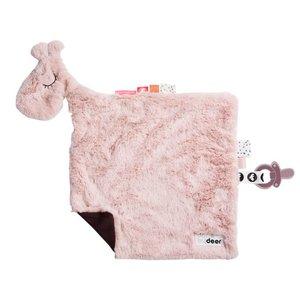 Done by Deer Knuffeldoek giraffe Raffi roze