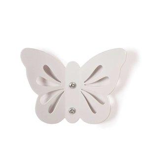 Roommate Wandhaakje witte vlinder