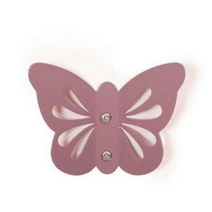 Roommate Wandhaakje violet vlinder