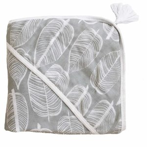 Witlof for kids Badcape / omslagdoek zomer Beleaf Warm Grey