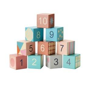 Kids Concept Bouwblokken pastel