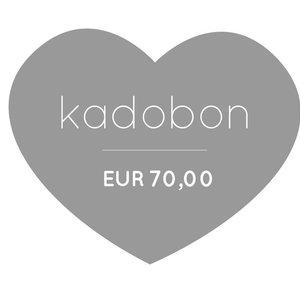 Klein & Stoer Kadobon 70 euro