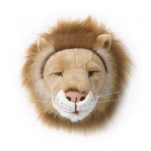 Wild and Soft Dierenkop  leeuw