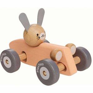 PlanToys Race auto konijn
