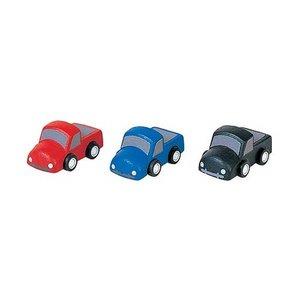 PlanToys Mini auto's (set van drie)