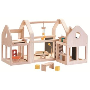 PlanToys Meeneem poppenhuis