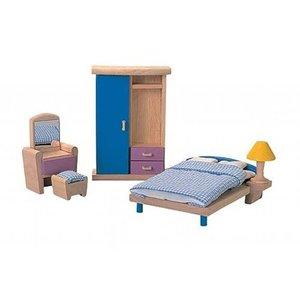 PlanToys Slaapkamer voor je poppenhuis