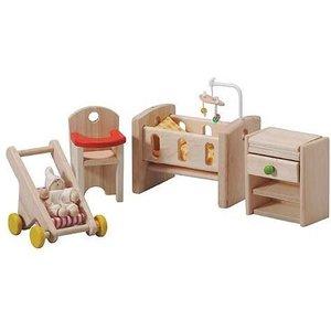 PlanToys Babykamer voor je poppenhuis
