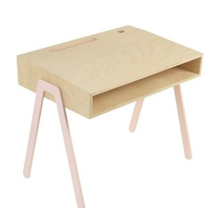 In2Wood Kinderbureau roze