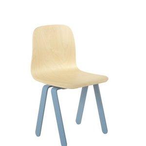 In2Wood Kinderstoel blauw