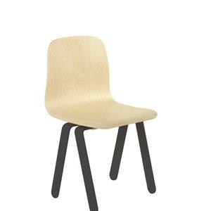In2Wood Kinderstoel zwart