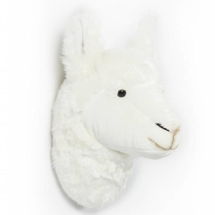 Dierenkoppen Voor Aan De Muur.Wild And Soft Pluche Dierenhoofd Lama Van Wild And Soft