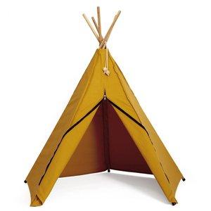 Roommate Hippie tipi tent okergeel