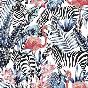 Klein & Stoer Zebra Behang  96 x 280 cm