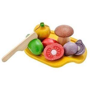 PlanToys Houten groente set