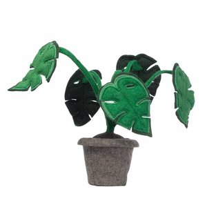 KidsDepot Monstera , vilten decoratie plant