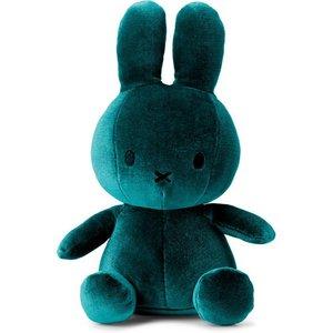 Nijntje miffy Nijntje knuffel blauw velvet
